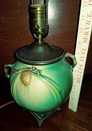 Roseville Lamp...no repairs!