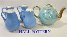 Hall pottery