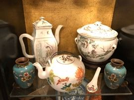Antique Qing Dynasty period porcelain