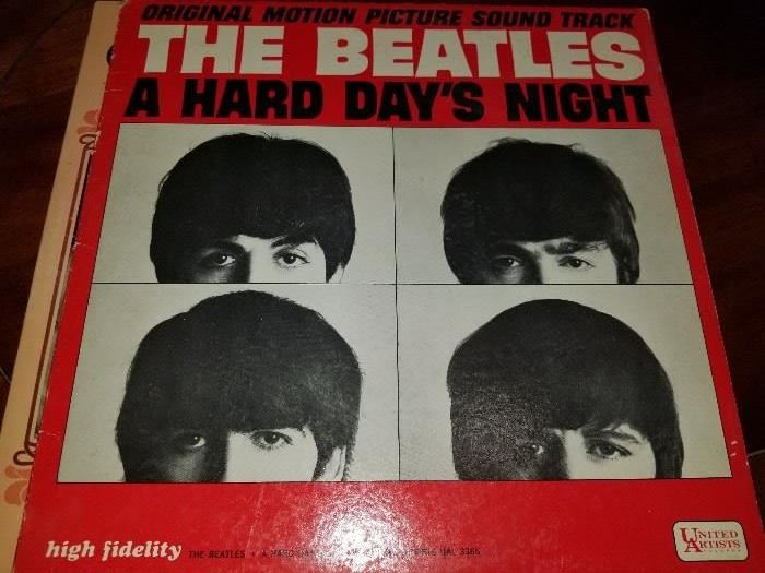 Beatles 'Its a Hard Days Night""