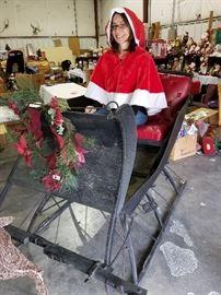 Our own Gaélle as MS Santa