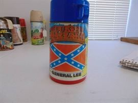 Dukes of Hazzard thermos