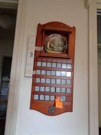 Thomas Kincaid wall calendar