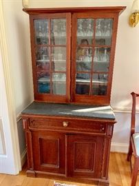 Hutch with slate top