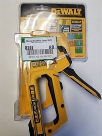 Dewalt multi tacker
