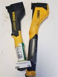 Lot of 2 Dewalt carbon fiber composite tools