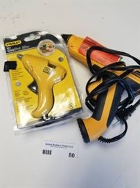 lot of 2 glue guns
