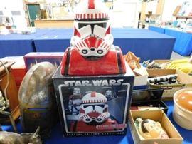 Star Wars Storm Trooper Cookie jar