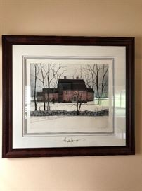 Buckley Moss signed  Colonial Wayside Inn