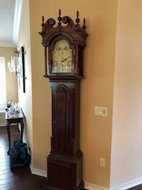 beautiful grandfather clock