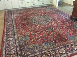 "Gorgeous wool Persian wool rug  10'2"" x 13'6"""