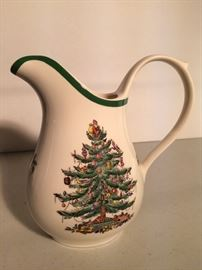 Dozens of Spode Christmas Tree pieces