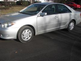 2005 Toyota Camry.  ~ 103,000 miles