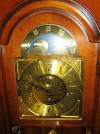 Howard Miller grandfather clock, purchased in 1991, excellent condition!
