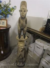African art statue/totem