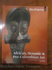 Bonhams African Art Auction Catalog.