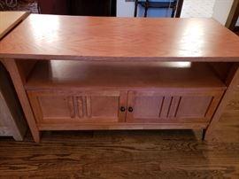 Light oak console table/TV cabinet