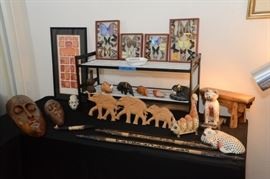 Lots of items from Peru