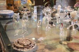 Small Decorative Items such as Swarovski & Lalique