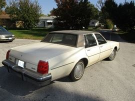 rear view 1983 Olds Delta 88
