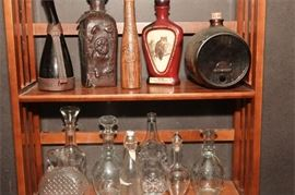 1. Miscellaneous Lot of Decanters and Bottles