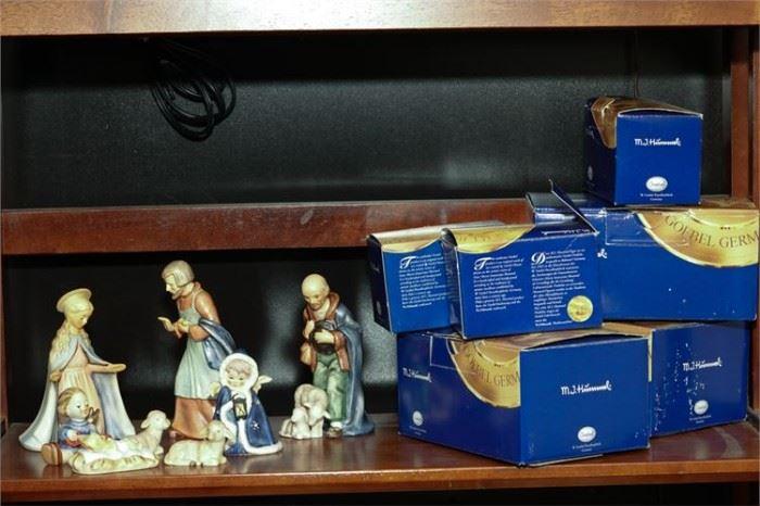 4. Lot GOEBEL Germany Nativity Figures