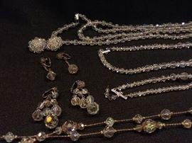 Beaded Necklaces  Earrings