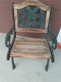 Vintage Outdoor Patio Chair