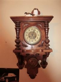 I think this clock is a good one.  I couldn't find a name, but great looking clock