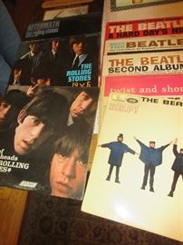 Vintage Beatles and Stones