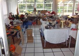 Tons of Christmas, Small Appliances, Etc...