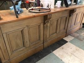 Antique Store Counter