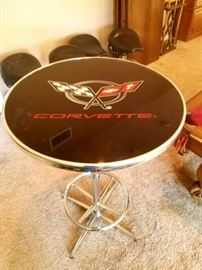 "Nice tall bar table ""Corvette"""