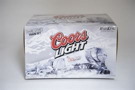 Rail King O-Guage Coors Light Train Set with Tank Engine and 3 Reefer Cars