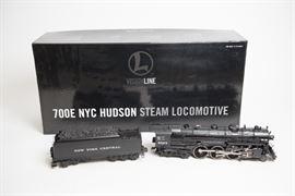 Lionel VisionLine 700E NYC Hudson Steam Locomotive