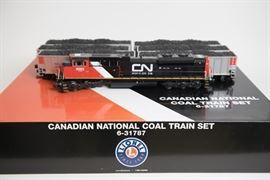 Lionel Canadian National Coal Train Set 6-31787