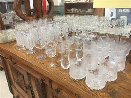 Glassware - Waterford and more