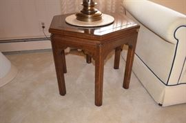 Asian Style End Table