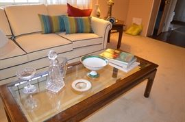 Asian Style Coffee Table and End table.