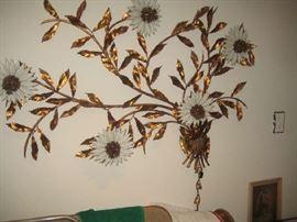 large metal wall decor