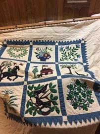 PA Dutch handmade quilt