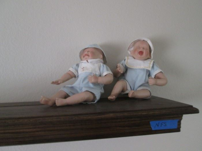 Hungry, Tired or Diaper Issues???  Plus a Wall-Mount Shelf