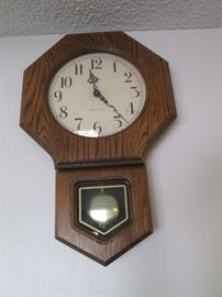Howard Miller Schoolhouse Clock