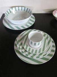 Capri Green China Set by Christopher Stewart #YO273