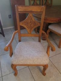 2-Arm Chairs and 4-Side Chairs