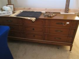 MCM Bedroom Group by John M. Smyth Co.  Wonderful Style, Details and Hardware!
