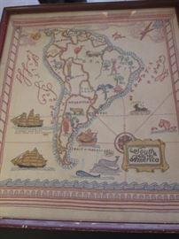 Vintage South America (Needlepoint?)