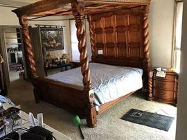 04 King Size Bed  Frame