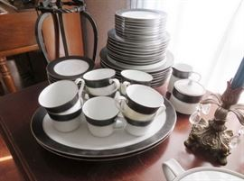 "Noritake ""Murano"" pattern large set of china."