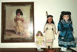 Print & dolls